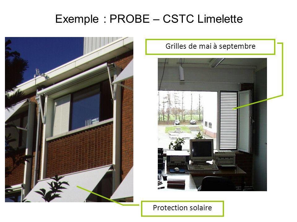 Protection solaire Grilles de mai à septembre