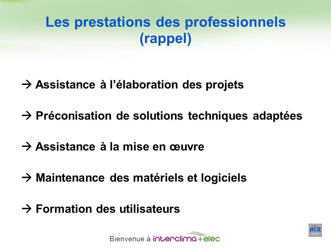 Paris – 23 mars 2011 - 4 Assistance à lélaboration des projets Préconisation de solutions techniques adaptées Assistance à la mise en œuvre Maintenanc