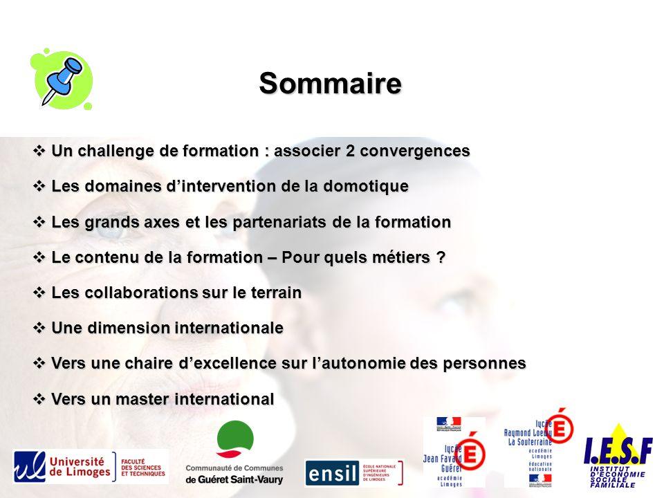 Le pôle « Domotique et Santé » de Guéret « Transformer le défi du vieillissement en un vivier dopportunités » 1.Améliorer les conditions de vie des habitants.