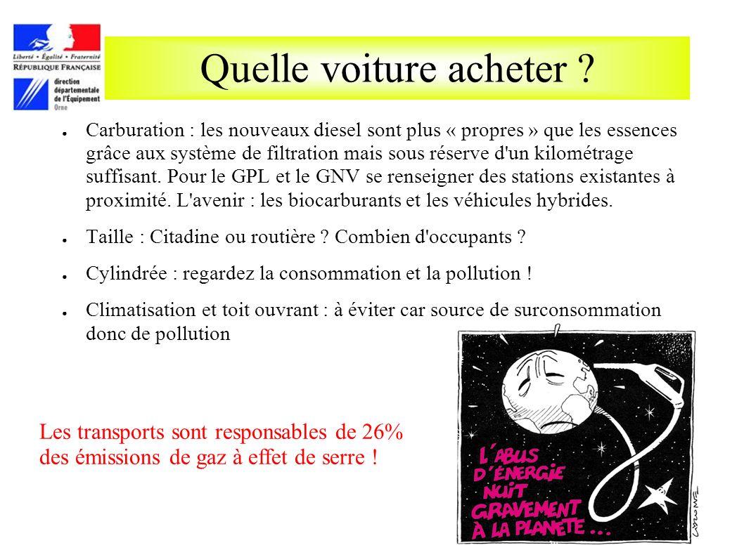 Quelle voiture acheter ? Carburation : les nouveaux diesel sont plus « propres » que les essences grâce aux système de filtration mais sous réserve d'