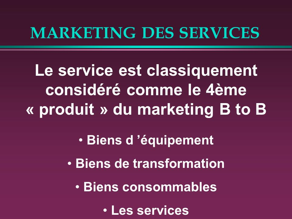 MARKETING DES SERVICES LE CAS GALERIES LAFAYETTE - IBM Global Services