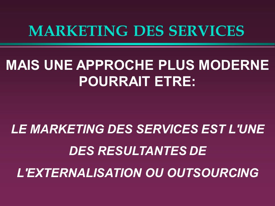 MARKETING DES SERVICES LE CAS LAFARGES