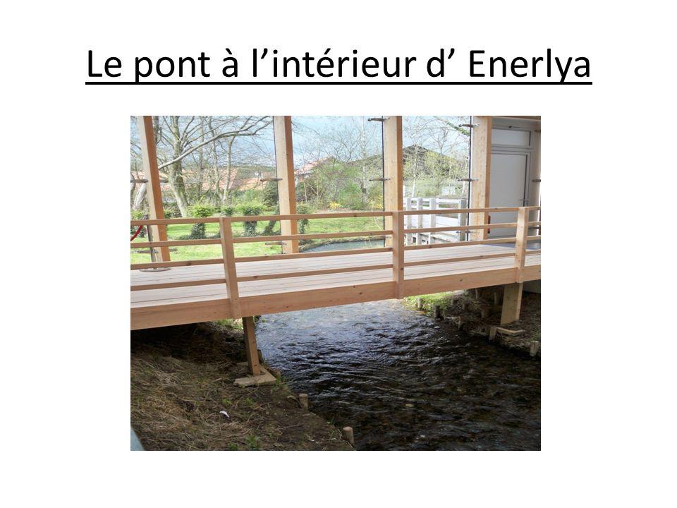 Le pont à lintérieur d Enerlya