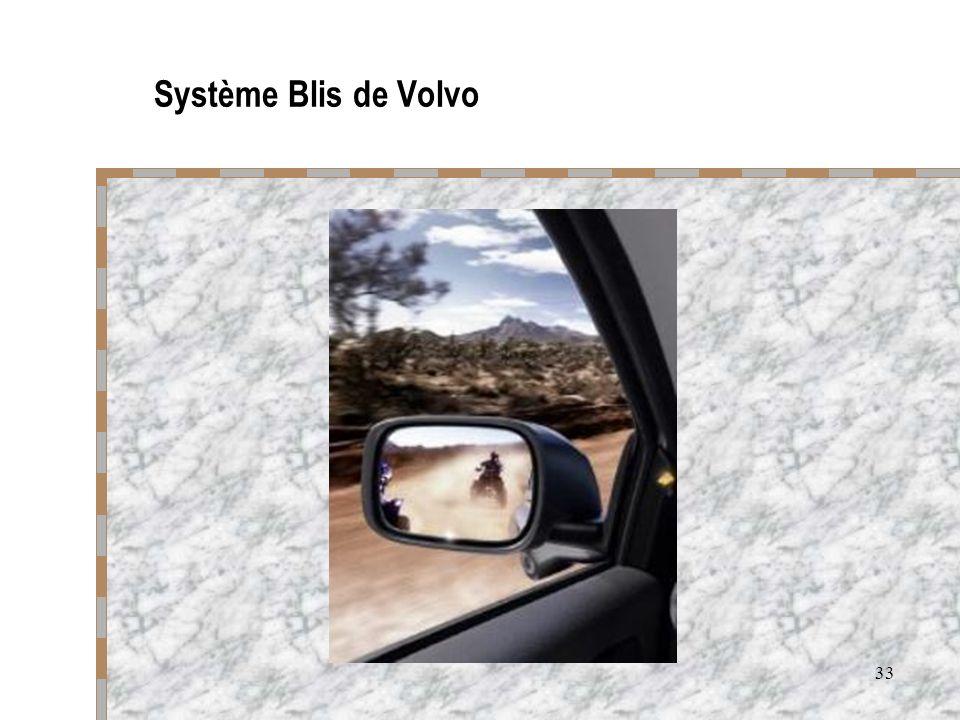33 Système Blis de Volvo