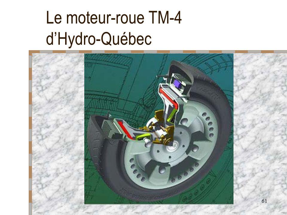 61 Le moteur-roue TM-4 dHydro-Québec