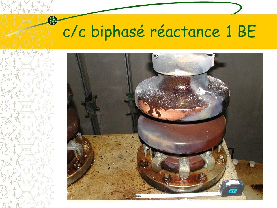 c/c biphasé réactance 1 BE
