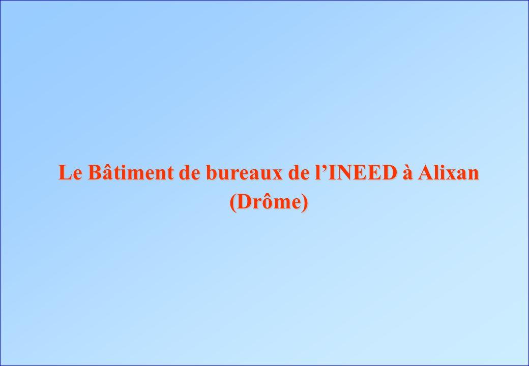 Le Bâtiment de bureaux de lINEED à Alixan (Drôme)