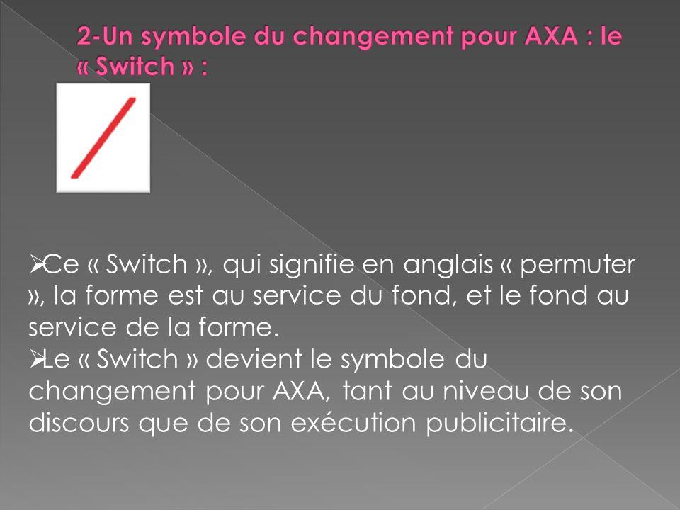 Ce « Switch », qui signifie en anglais « permuter », la forme est au service du fond, et le fond au service de la forme.