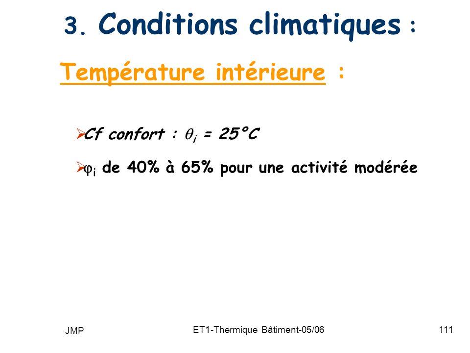 JMP ET1-Thermique Bâtiment-05/06111 3.