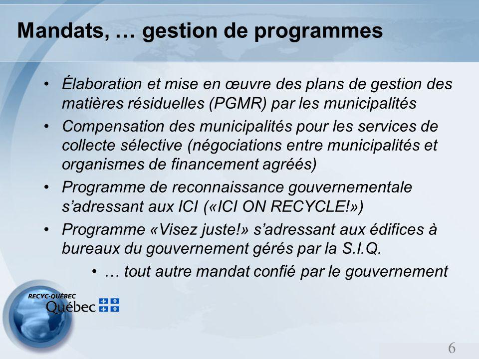 Le programme Visez vert de BOMA Québec