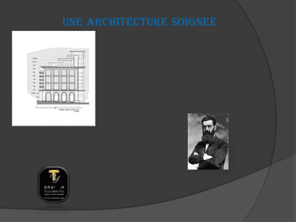 UNE ARCHITECTURE SOIGNEE