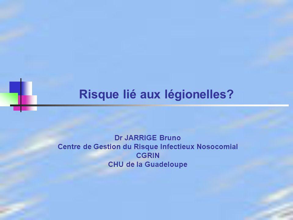22 Dr JARRIGE 23 Novembre 2006 Soumis en 2005 à lavis du Conseil supérieur dhygiène publique de France (section des eaux et section des maladies transmissibles).