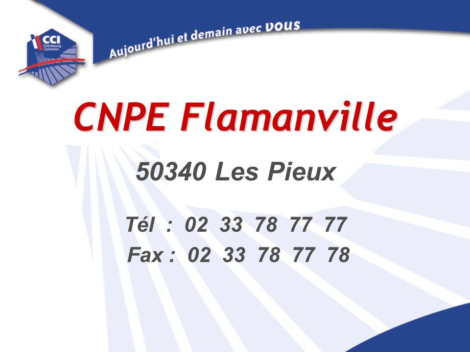 CNPE Flamanville 50340 Les Pieux Tél : 02 33 78 77 77 Fax : 02 33 78 77 78