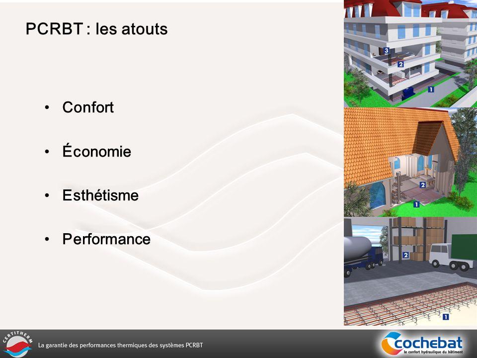 Confort Économie Esthétisme Performance PCRBT : les atouts
