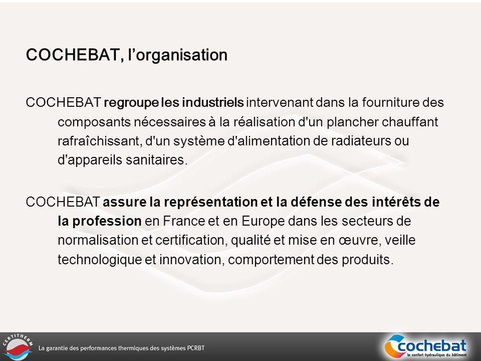 2. Le marché français des Planchers Chauffants Rafraîchissants Basse Température Mr. Thierry Bedard
