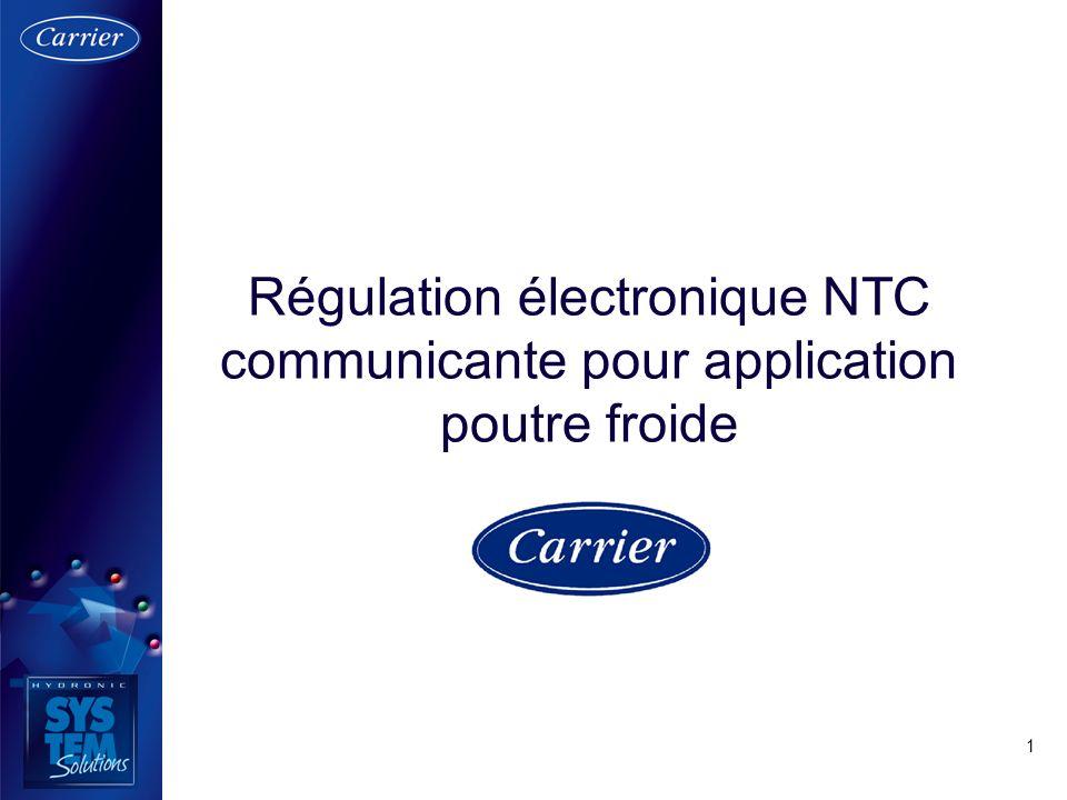 1 Régulation électronique NTC communicante pour application poutre froide