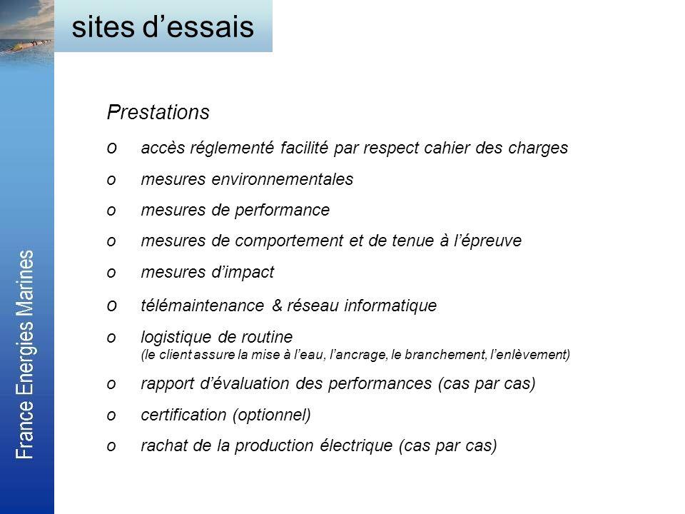 Prestations o accès réglementé facilité par respect cahier des charges omesures environnementales omesures de performance omesures de comportement et