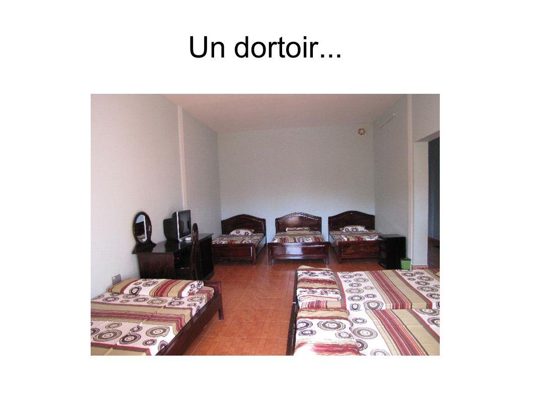 Un dortoir...