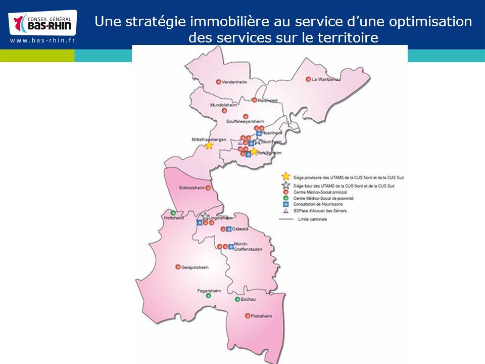 Une stratégie immobilière au service dune optimisation des services sur le territoire