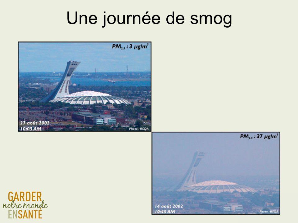 Une journée de smog