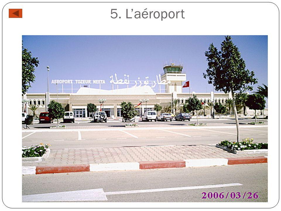 5. Laéroport