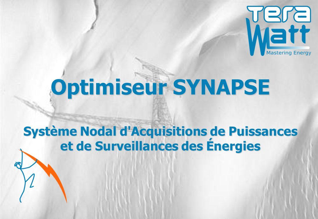 Optimiseur SYNAPSE Système Nodal d Acquisitions de Puissances et de Surveillances des Énergies