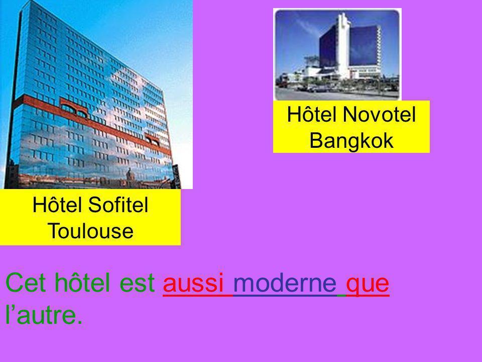 Hôtel Sofitel Toulouse Cet hôtel est aussi moderne que lautre. Hôtel Novotel Bangkok