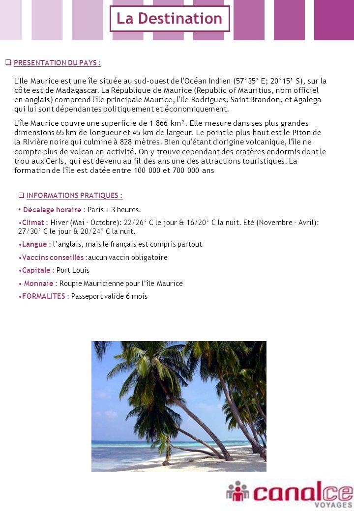 Le programme ILE MAURICE BLUE LAGOON BEACH HOTEL *** SITUATION Situé sur la côte Sud-Est, lhôtel Blue Lagoon, est aménagé dans un superbe cadre, au milieu de jardins tropicaux, à 10 minutes de l aéroport.