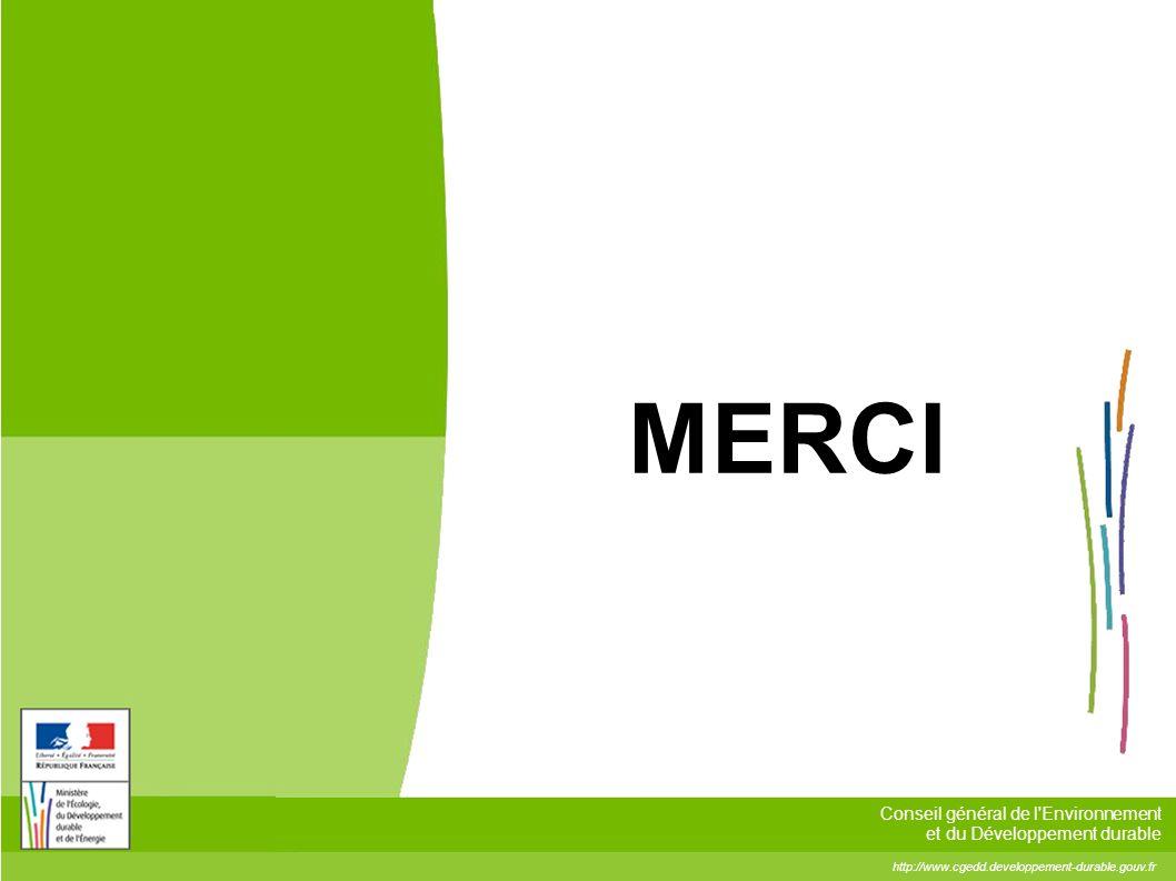 http://www.cgedd.developpement-durable.gouv.fr Conseil général de l'Environnement et du Développement durable MERCI