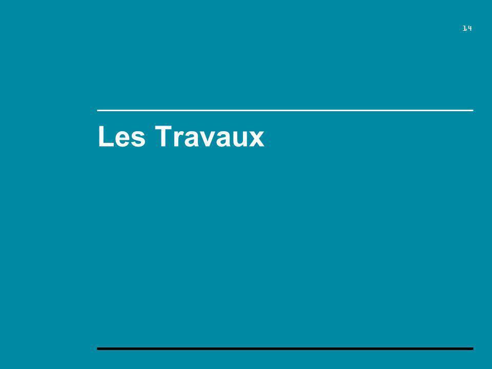 14 Les Travaux