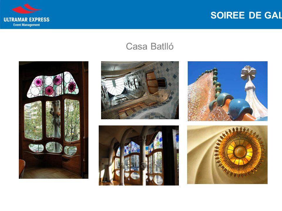 Casa Batlló SOIREE DE GALA