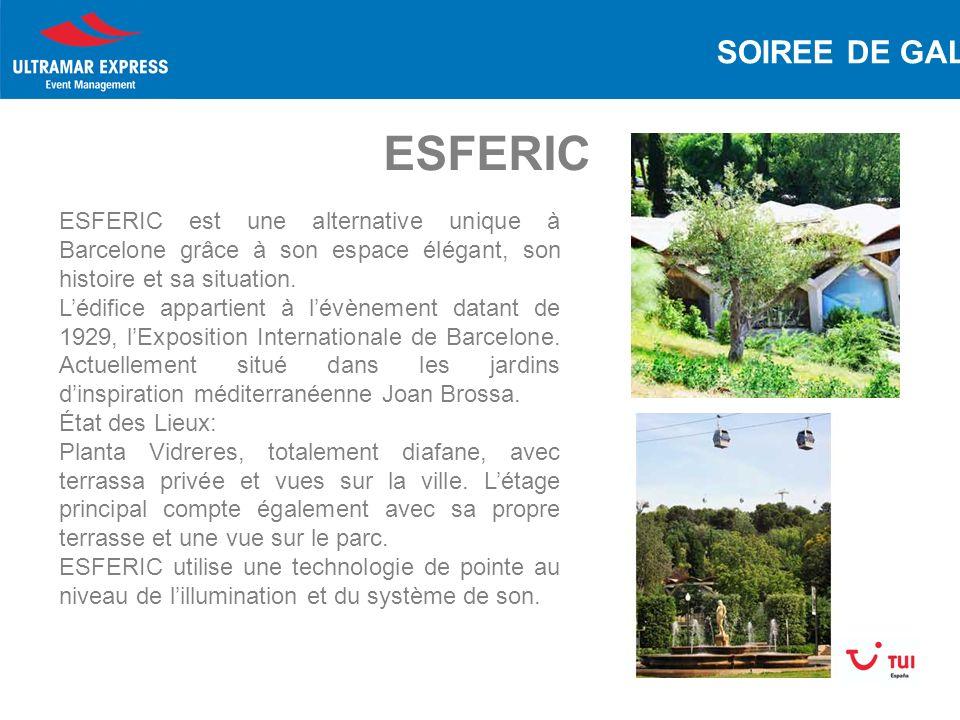 ESFERIC ESFERIC est une alternative unique à Barcelone grâce à son espace élégant, son histoire et sa situation.