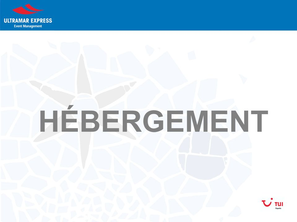 HÉBERGEMENT