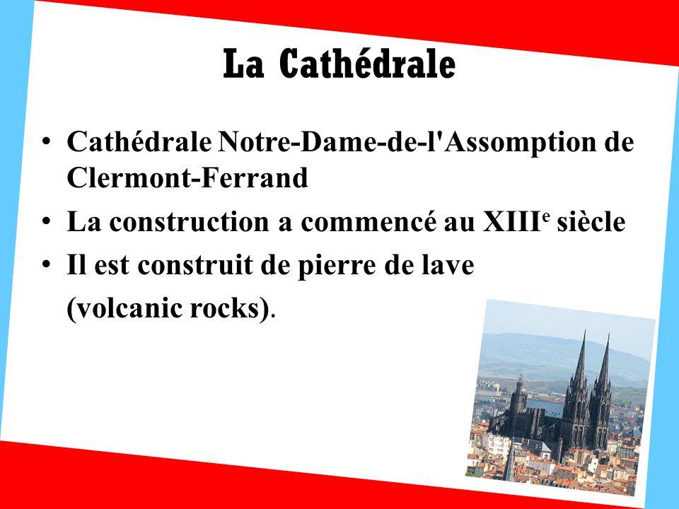 Montferrand Un ancien quartier de Clermont-Ferrand Il a conservé son plan médiéval en bastide.