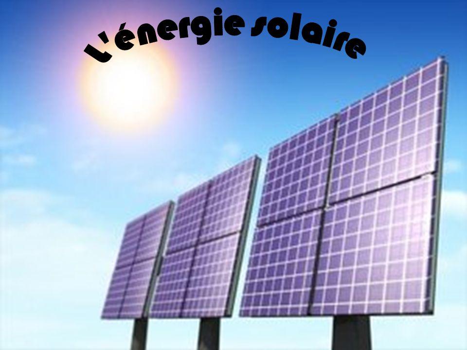 Lénergie solaire