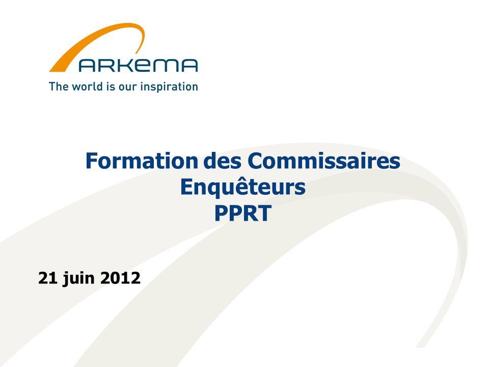 Formation des Commissaires Enquêteurs PPRT 21 juin 2012