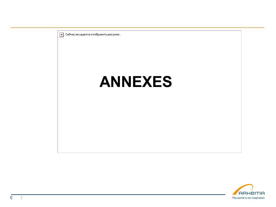 6 / ANNEXES