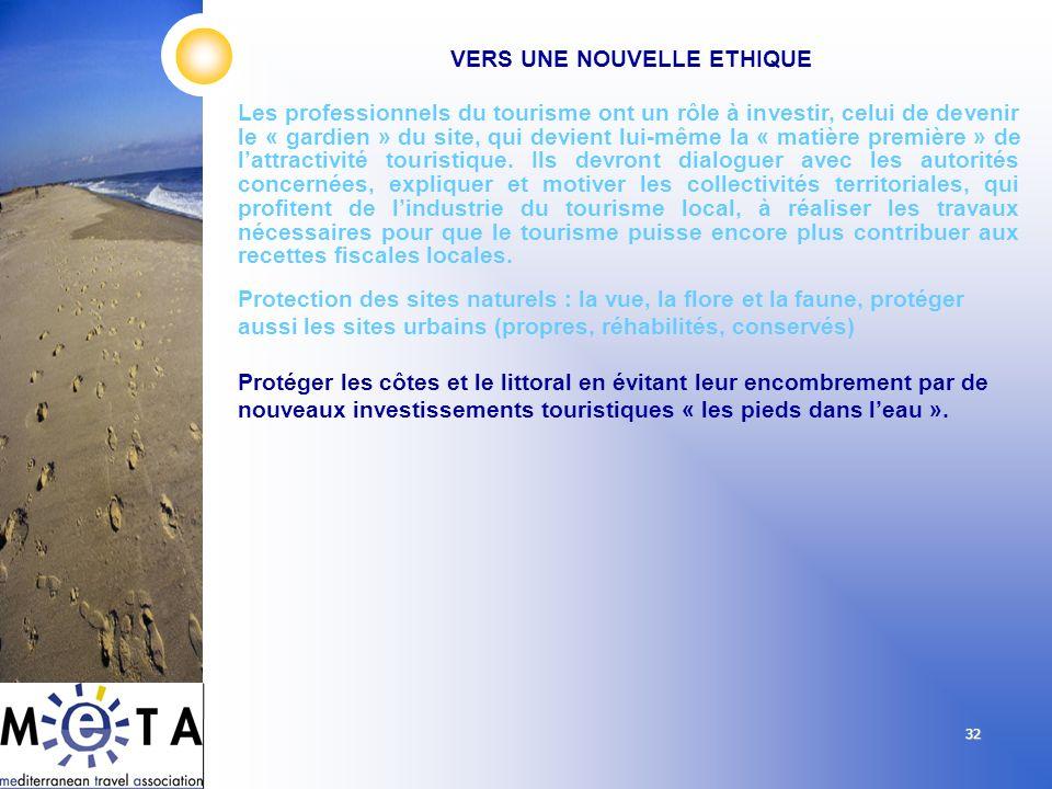 32 Les professionnels du tourisme ont un rôle à investir, celui de devenir le « gardien » du site, qui devient lui-même la « matière première » de lat