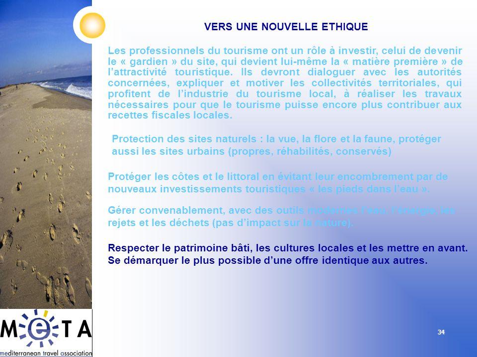 34 Les professionnels du tourisme ont un rôle à investir, celui de devenir le « gardien » du site, qui devient lui-même la « matière première » de lat