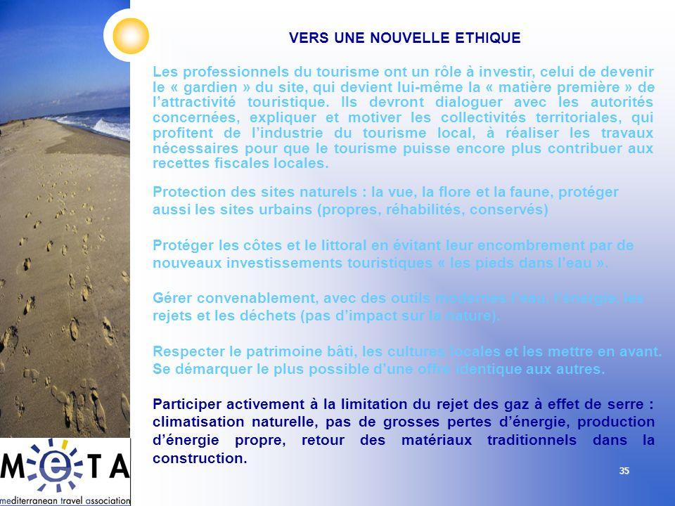 35 Les professionnels du tourisme ont un rôle à investir, celui de devenir le « gardien » du site, qui devient lui-même la « matière première » de lat