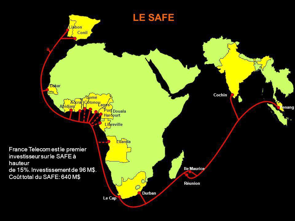 Réunion Ile Maurice Penang Cochin Durban Le Cap Luanda Libreville Douala Port Harcourt Lagos Lomé Cotonou Accra Abidjan Dakar Conil Lisbon Altavista L