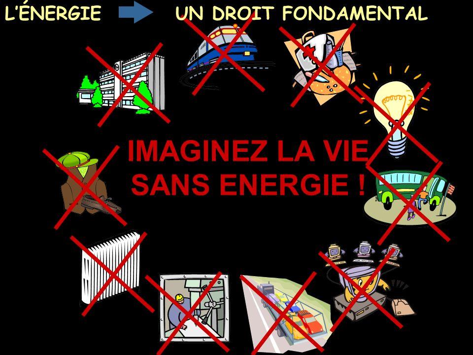 Politique Énergétique JMK 2003 Position CGT FNME CGT mars 2005 2 IMAGINEZ LA VIE SANS ENERGIE ! LÉNERGIEUN DROIT FONDAMENTAL