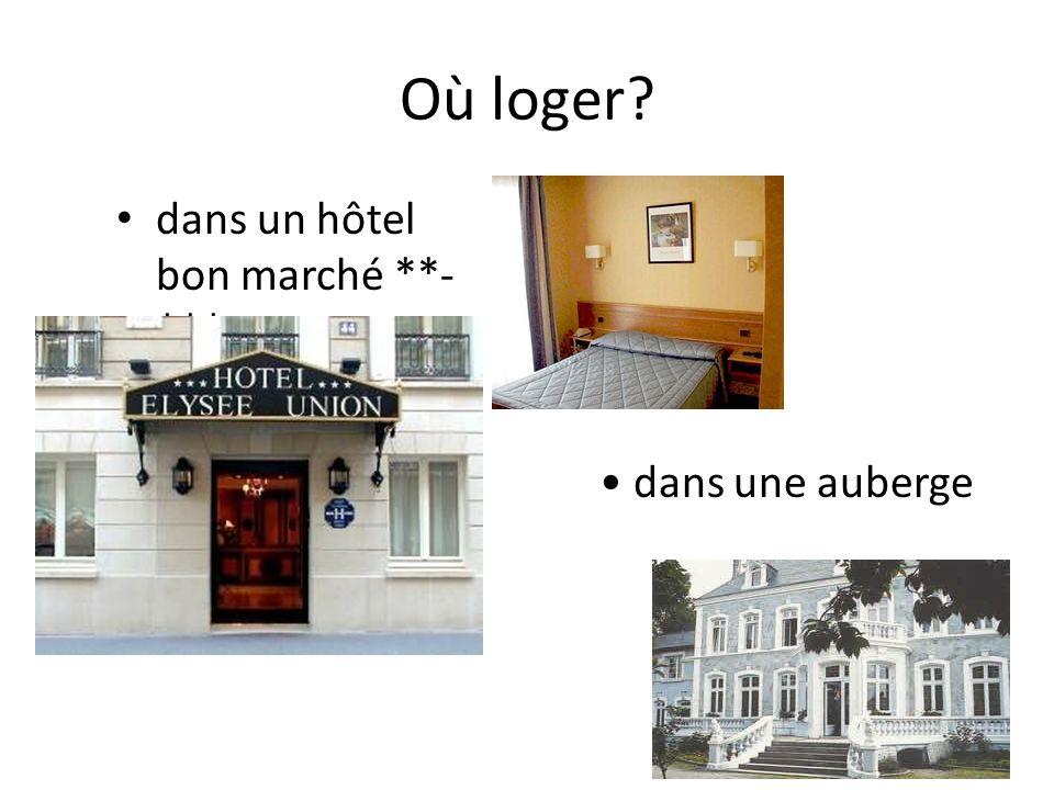 Le comparatif des adjectifs et dadverbes : La supériorité: plus + adverbe/adjectif + que La chambre à deux lits est plus chère que celle à un lit.