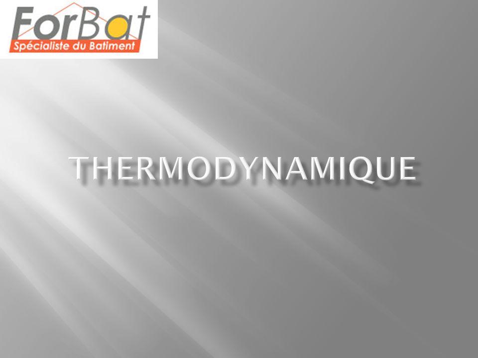 Quelques notions: La réfrigération est l abaissement de température par des moyens artificiels.
