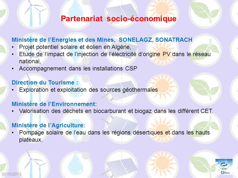Ministère de lEnergies et des Mines, SONELAGZ, SONATRACH Projet potentiel solaire et éolien en Algérie, Etude de limpact de linjection de lélectricité