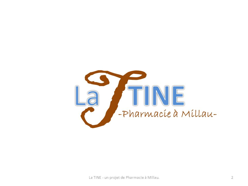 Situation géographique Sud Aveyron Millau Avenue Jean Jaurès Accès facile par lA75 Aéroport et gare TGV à 1heure de route Ville touristique et sportive Avenue centre ville proche cœur de ville Avenue dynamique, nombreuses enseignes 3La TINE - un projet de Pharmacie à Millau.