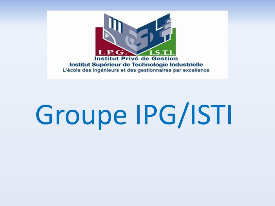 Groupe IPG/ISTI