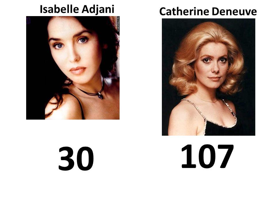 Isabelle Adjani Catherine Deneuve 30 107