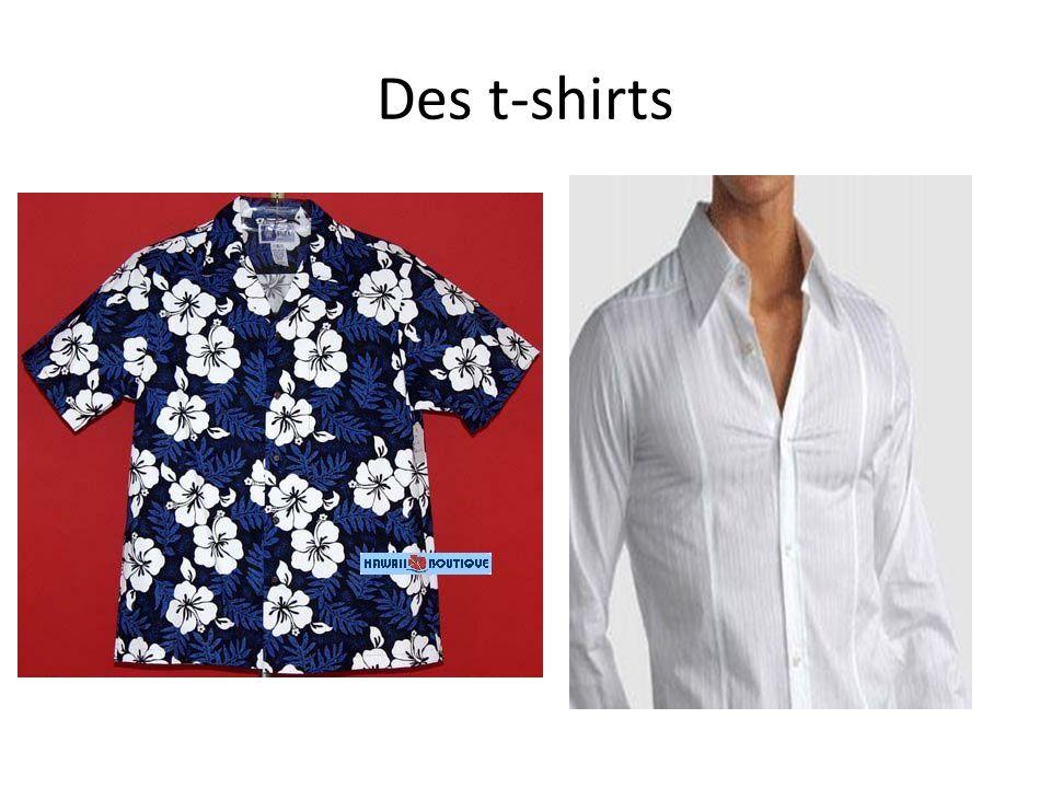 Des t-shirts