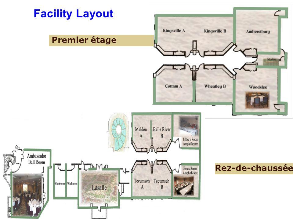 Premier étage Rez-de-chaussée Facility Layout